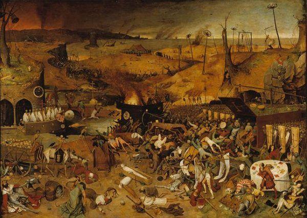 Dżuma nazywana była również czarną śmiercią