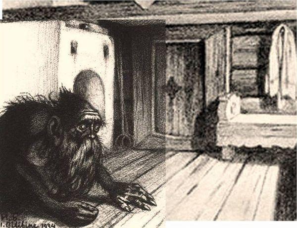 Wizerunek domowika autorstwa Iwana Bilibina (1934)