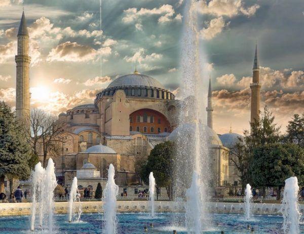 Hagia Sophia do lipca 2020 roku pełni funkcję muzeum