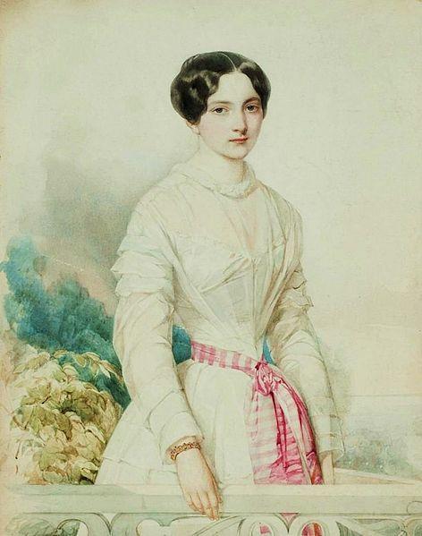 Julia Hauke w młodości