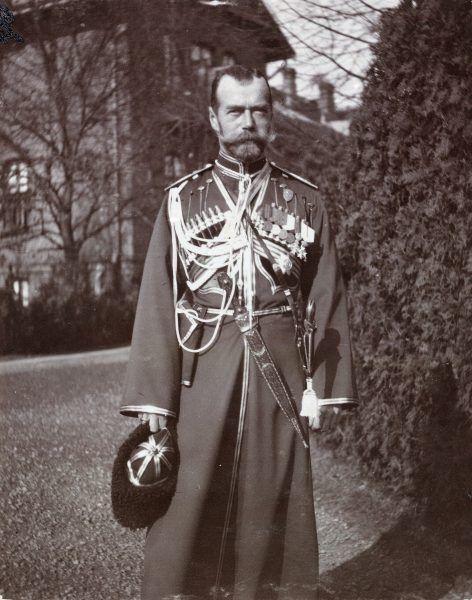 Mikołaj II w Spale