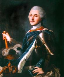 Portret koronacyjny Stanisława Augusta Poniatowskiego
