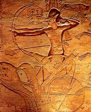 Ramzes II pod Kadesz
