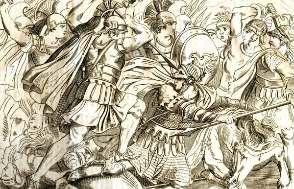 Najbardziej znane i krwawe bitwy miały miejsce w czasie wojen grecko perskich