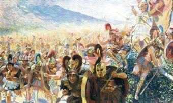 Dziś bardzo trudno ustalić ile naprawdę ludzi ginęło na polach starożytnych bitew