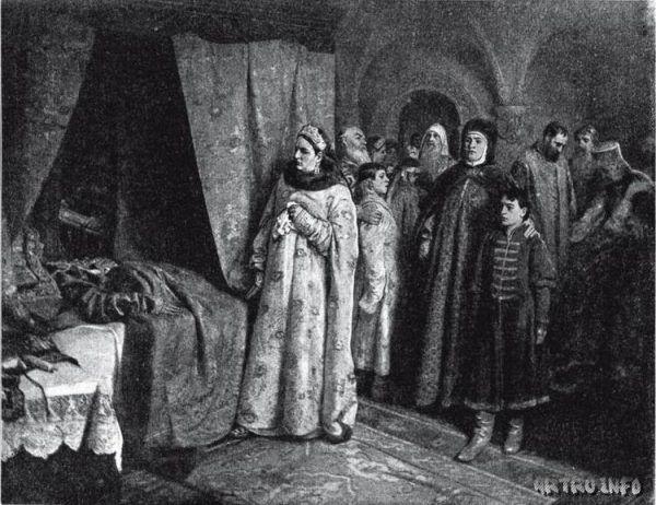 Fiodor III zmarł wkrótce po swojej ukochanej żonie