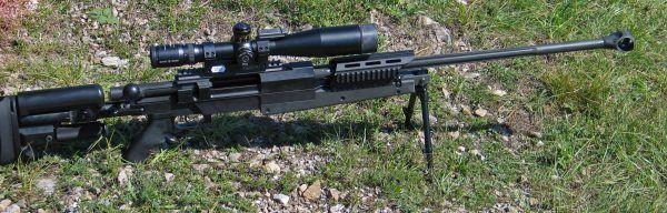 Karabin wyborowy .338 Lapua Magnum. Z takiej broni Kyle oddał najdłuższy celny strzał w swojej karierze