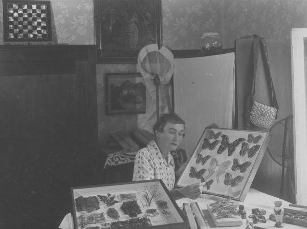 Michalina Isaakowa w pracowni