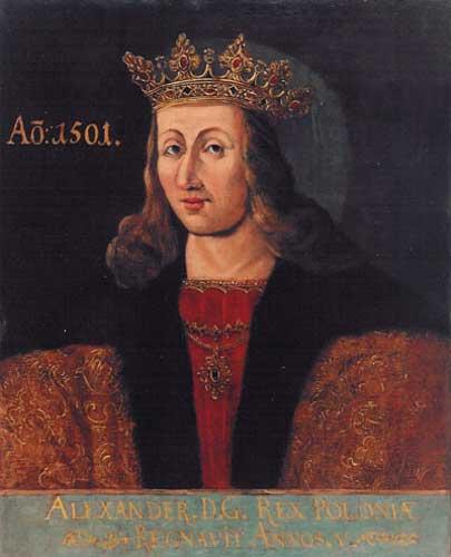 Sparaliżowany Aleksander Jagiellończyk dokonał żywota 19 VIII 1506 r. w wieku 45 lat. Współcześnie sądzi się, że król zmarł właśnie na syfilis.
