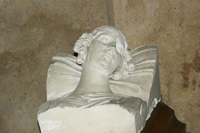 Antonin, popiersie Elizy Radziwiłłówny