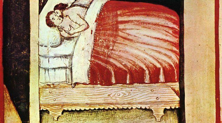 Jedna z teorii powstania choroby, obwiniała ludzki wracających z wypraw do Nowego Świata.