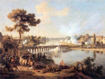 Bitwa pod Lodi w czasie kampani włoskiej Napoleona Bonapartego