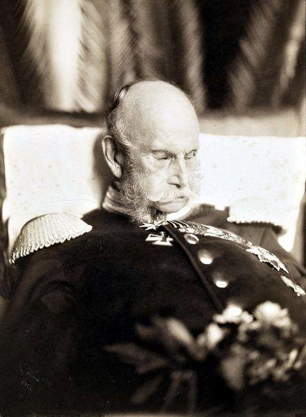 Cesarz Wilhelm I po śmierci