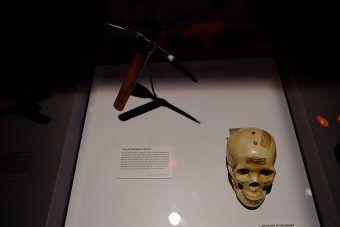 Czekan, którym Ramón Mercader zamordował Lwa Trockiego.