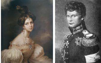 20 letni Wilhelm i 14 letnią Eliza zakochali się w sobie w 1817 roku, podczas pobytu Radziwiłłów w Berlinie