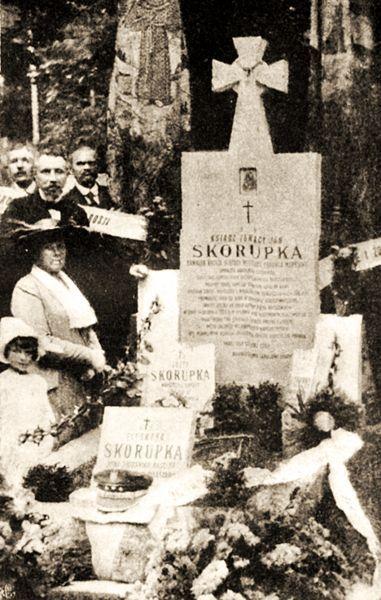 Grób Ignacego Skorupki