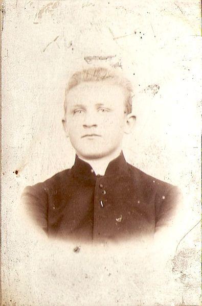 Ignacy Skorupka w 1907 roku