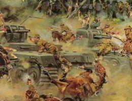 W powszechnej świadomości utrwalił się mit polskich kawalerzystów szarżujących na niemieckie czołgi.
