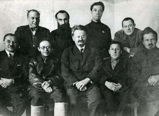 Liderzy Lewicowej Opozycji w 1927 roku