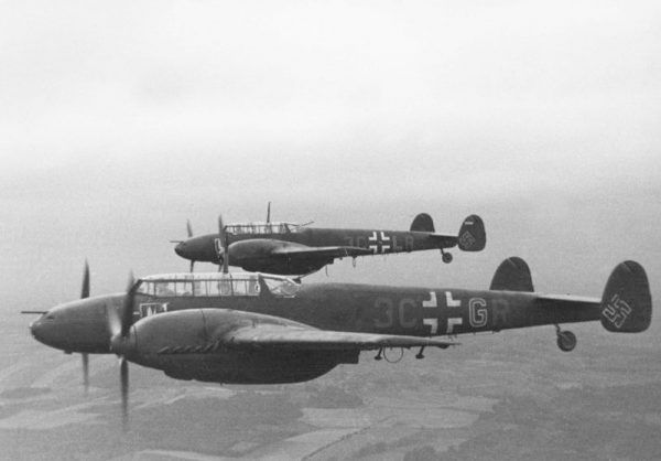Messerschmitt Bf 110C1. Zdjęcie poglądowe