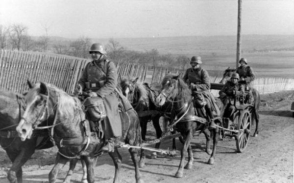 Niemiecka kawaleria Waffen SS w 1939