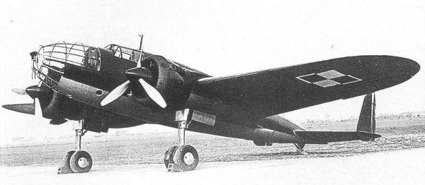 PZL.37 Łoś – samolot bombowy