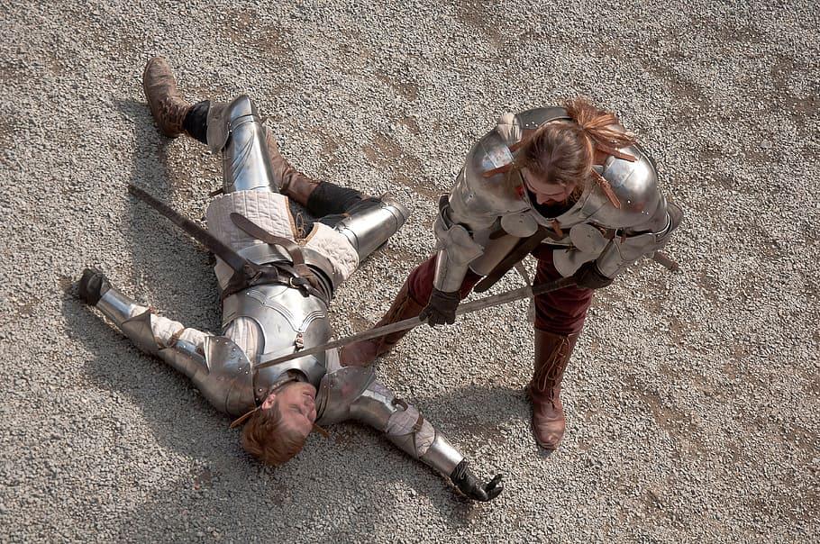 Zabicie ważnego wroga podczas bitwy przynosiło zwycięscy sławę oraz bogactwo.