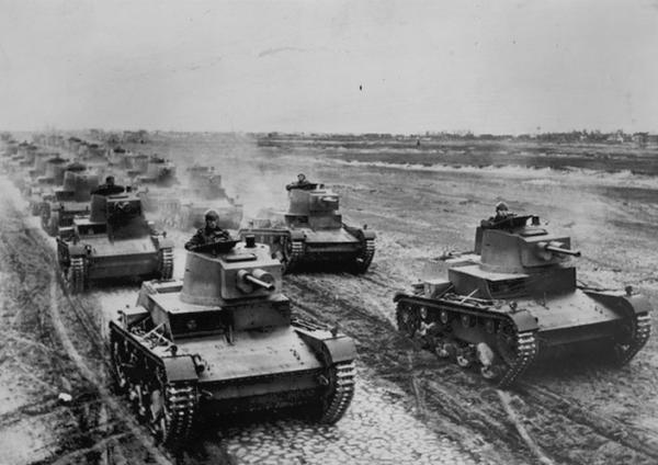 Polskie czołgi 7TP były w stanie podjąć równorzędną walkę z każdym typem ówczesnego czołgu niemieckiego
