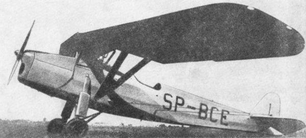 RWD 8 – polski samolot szkolny. Na takim właśnie modelu trenował polski pilot