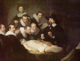 Rembrandt, Lekcja anatomii doktora Tulpa