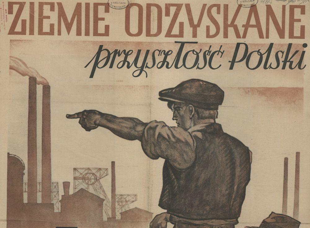 Fragment plakatu propagandowego.