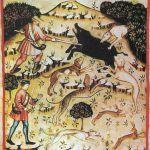 Na dziki polowano za pomocą włóczni.