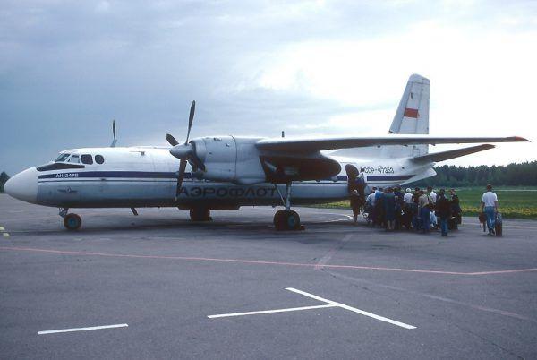 Samolot pasażerski An 24RW