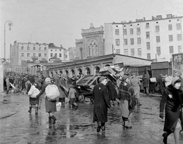 Obóz dla dzieci powstał w granicach łódzkiego getta.