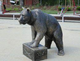 Pomnik Wojtka przy ul. Misia Wojtka w Szczecinie