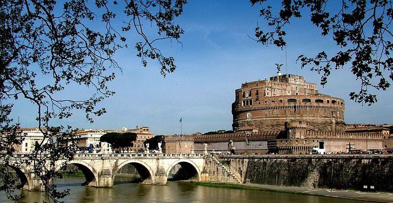 Zamek św. Anioła w Rzymie, widok współczesny