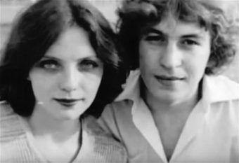 Larysa Sawicka z mężem Wołodią