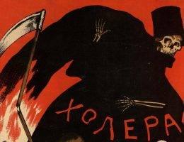 Władze ZSRR musiały zmagać się m.in. z nawrotami cholery.