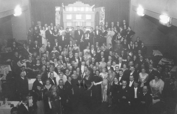Bal w Zakopanem, Źródło: Narodowe Archiwum Cyfrowe, 1934 r.