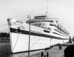 """""""Wilhelm Gustloff"""" był nazistowskim statkiem marzeń, którym jeszcze przed wojną pływały niemieckie elity"""