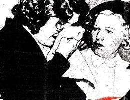 """Fragment plakatu filmu """"Girl 27"""" opowiadającego o historii Patricii Douglas"""