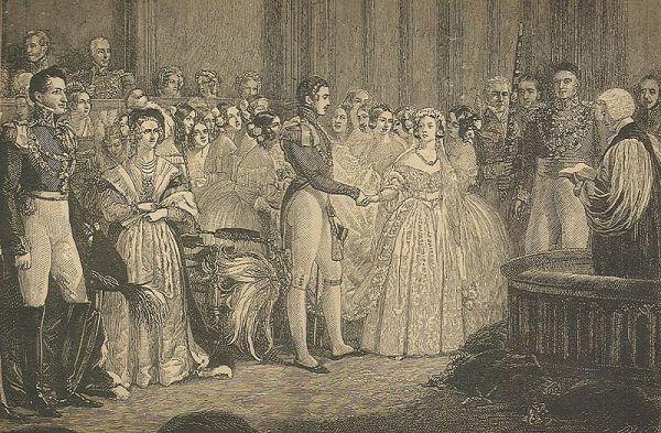 Ślub Alberta i Wiktorii