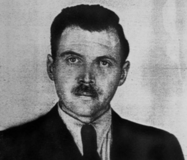 Josef Mengele w 1956 roku.