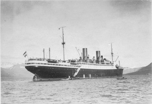 Wrak SS Steuben, został odkryty przez ORP Arctowski w maju 2004 roku.