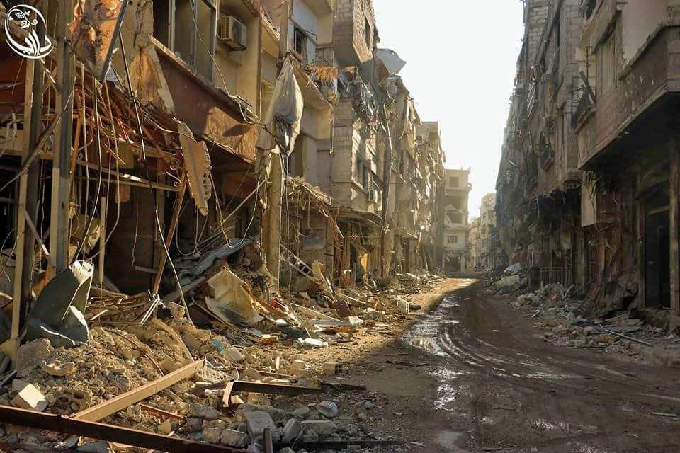Na syryjską Darajję od początku wojny spadał grad bomb i pocisków.
