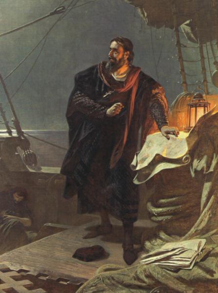 Krzysztof Kolumb, zanim odkrył Amerykę, był marynarzem na portugalskich statkach niewolniczych.
