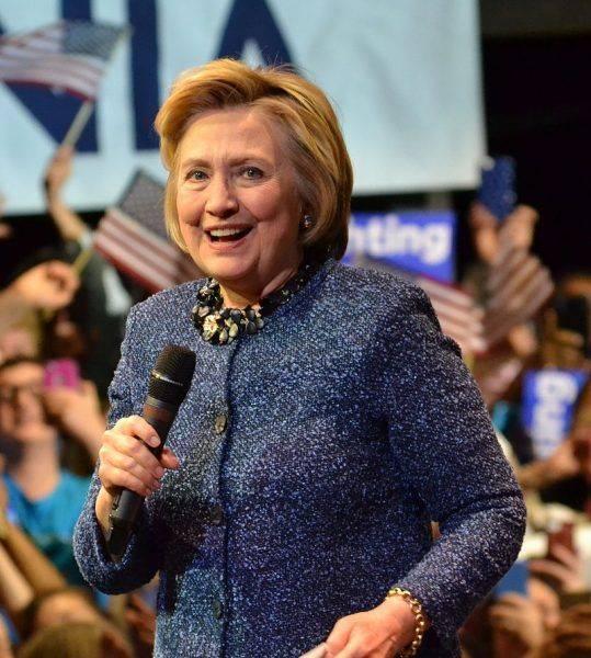 Przemówienie Hillary Clinton w Filadelfii w ramach kampanii prezydenckiej w 2016 roku
