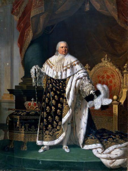 Ludwik XVIII to jedyny król pochowany po Wielkiej Rewolucji, który do dziś spoczywa spokojnie w podziemiach Saint-Denis.
