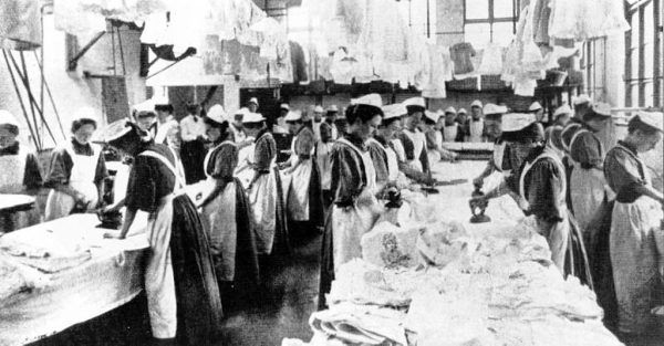 W pralniach Magdalenek kobiety były zmuszane do pracy ponad siły.
