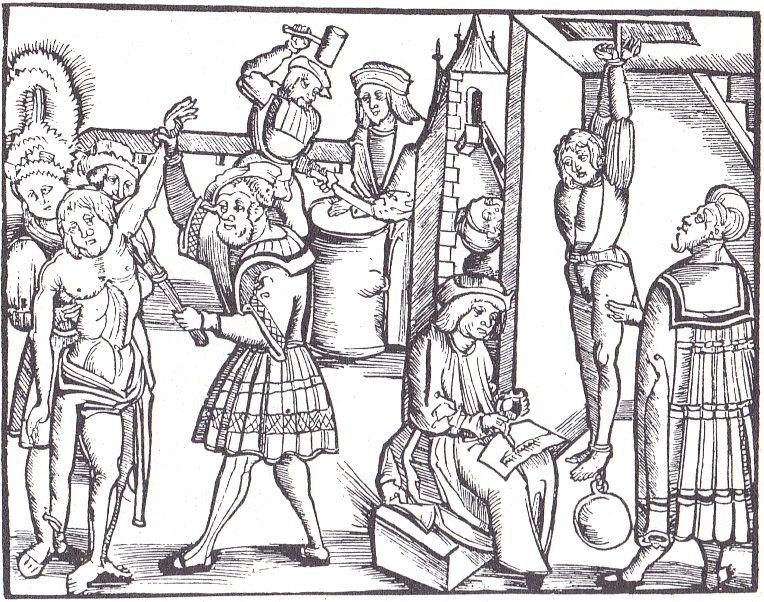 Tortury to nieodłączny element współczesnej wizji średniowiecza.